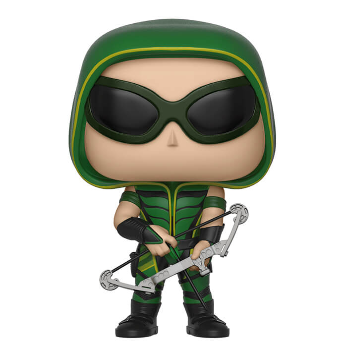 Green Arrow aves lunettes unboxed