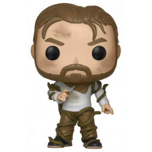 Figurine Funko POP Hopper entouré de vignes (Stranger Things)
