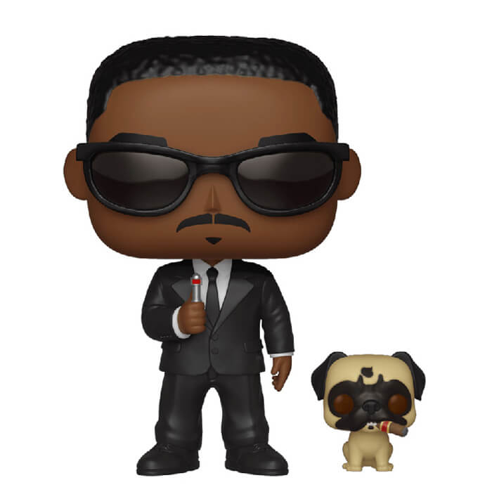 Figurine Agent J et Frank (Men in Black)