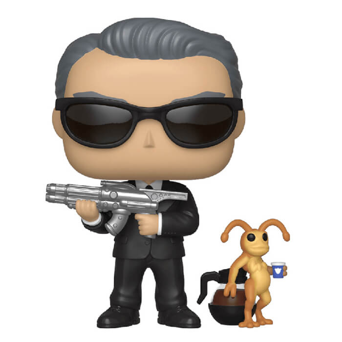 Figurine Agent K et Neeble (Men in Black)