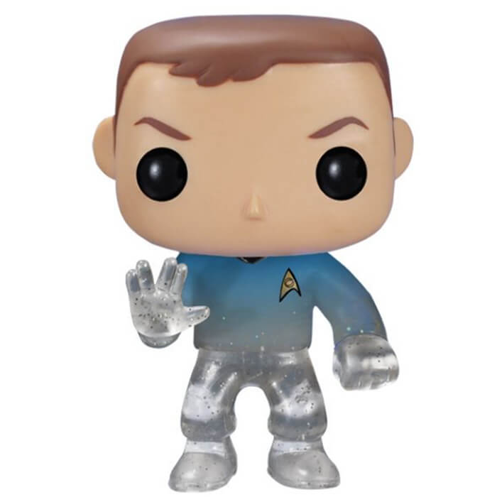 Figurine Funko POP Sheldon Cooper (Star Trek) (disparaissant) (The Big Bang Theory)
