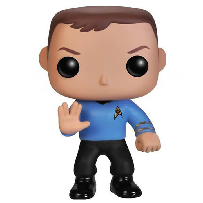 Figurine Funko POP Sheldon Cooper (Star Trek) (The Big Bang Theory)