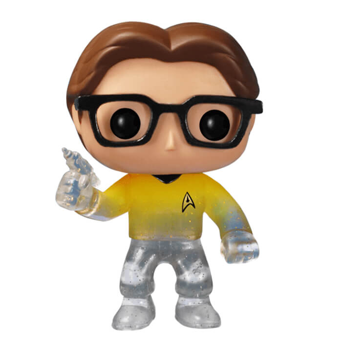 Figurine Funko POP! Leonard Hofstadter (Star Trek) (disparaissant)