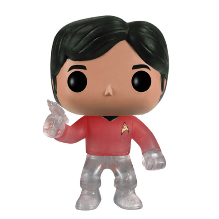 Figurine Funko POP Raj Koothrappali (Star Trek) (disparaissant) (The Big Bang Theory)