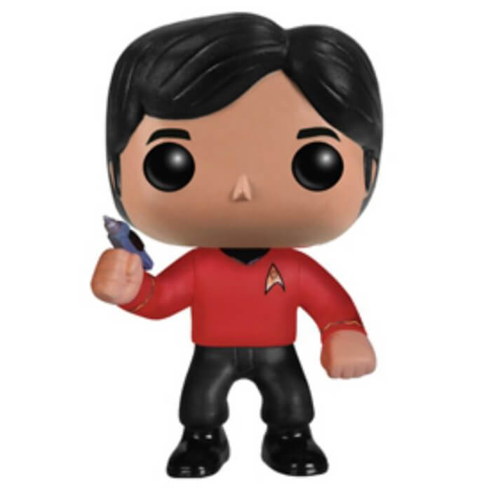 Figurine Funko POP Raj Koothrappali (Star Trek) (The Big Bang Theory)