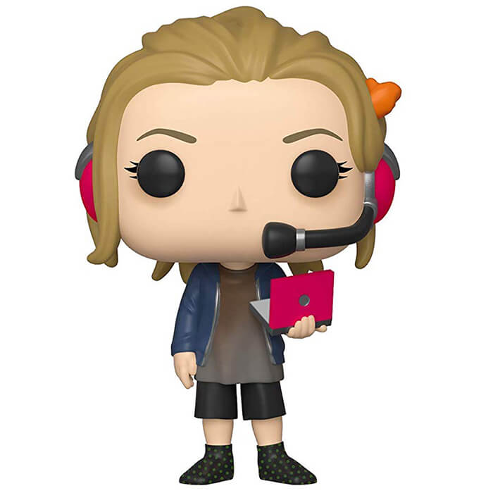 Figurine Funko POP Penny avec ordinateur (The Big Bang Theory)