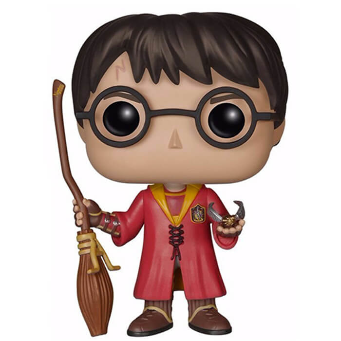 Figurine Funko POP Harry Potter avec sa tenue Quidditch (Harry Potter)