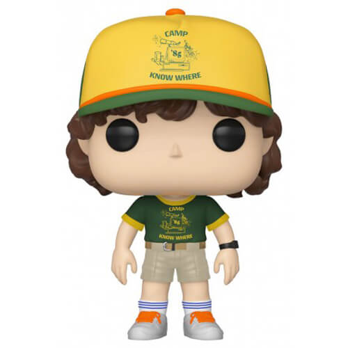 Figurine Funko POP Dustin au camp