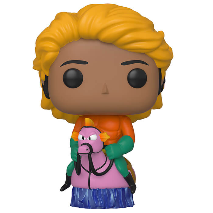 Figurine Funko POP Raj Koothrappali en Aquaman (The Big Bang Theory)