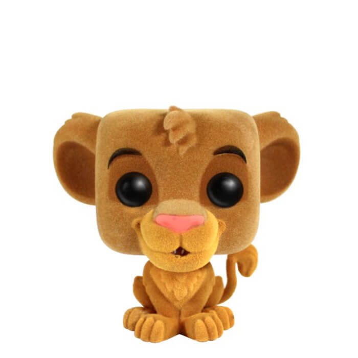 Figurine Funko POP! Simba (Flocked)