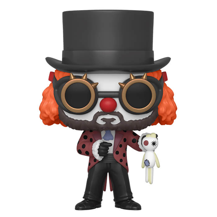 Figurine Funko POP Le Professeur en clown (La Casa de Papel)