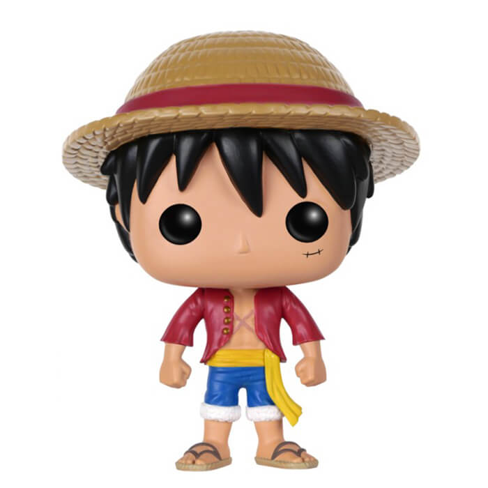 Monkey D Luffy unboxed