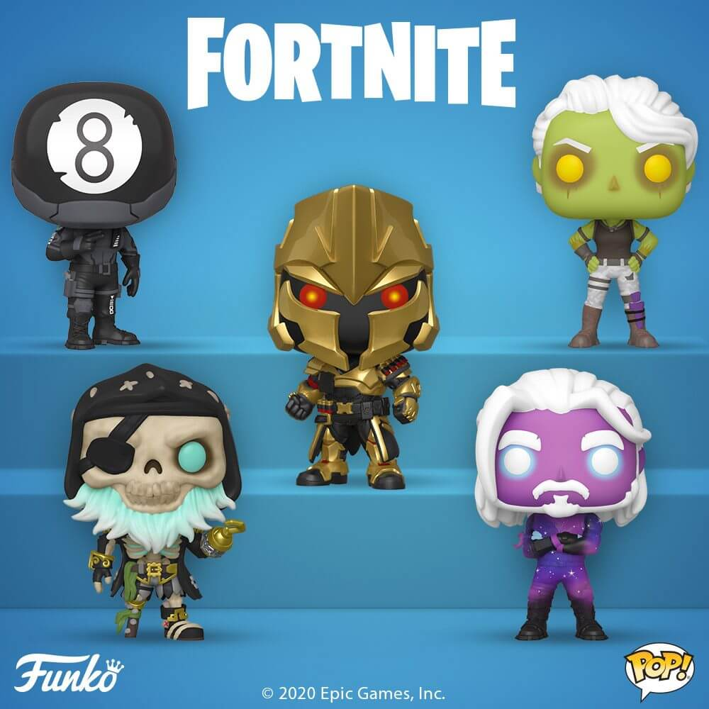 5 Nouvelles figurines POP Fortnite