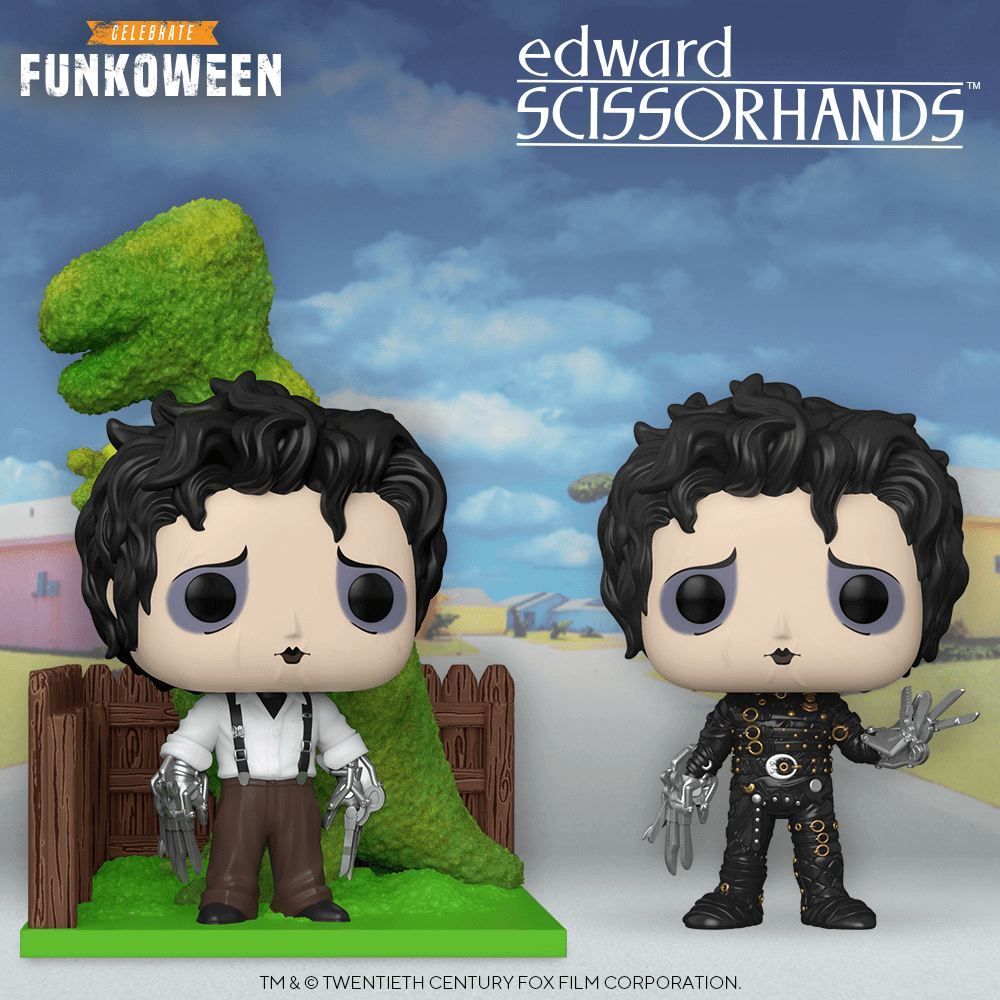 Figurines POP Edward aux mains d'argent
