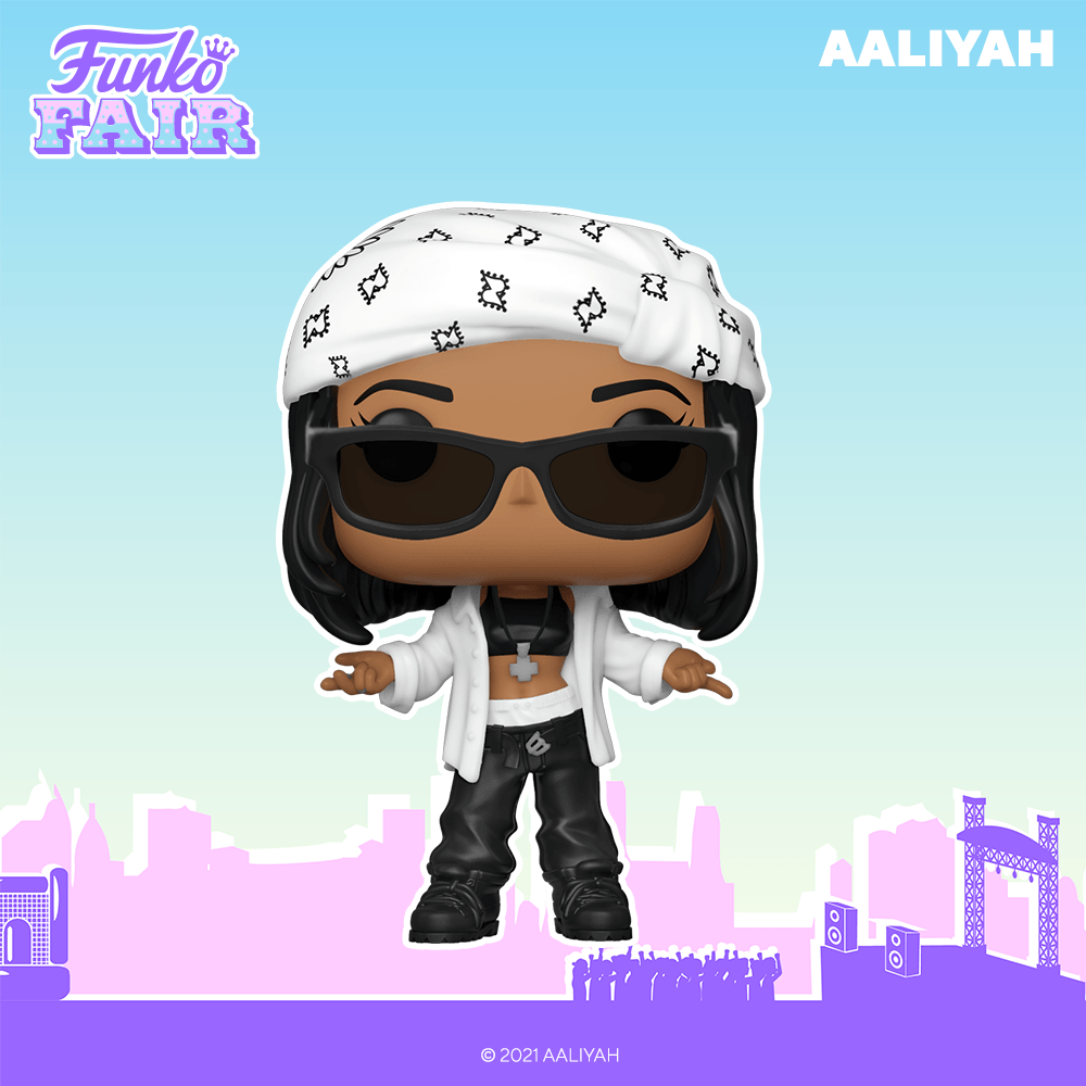 Funko rend hommage à Aaliyah