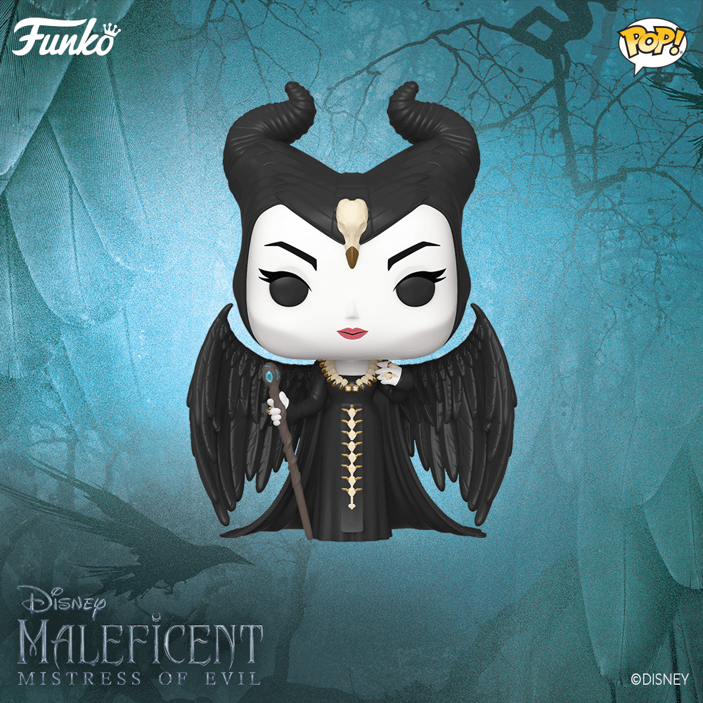 Figurine POP de Maléfique (Maleficient) de Disney
