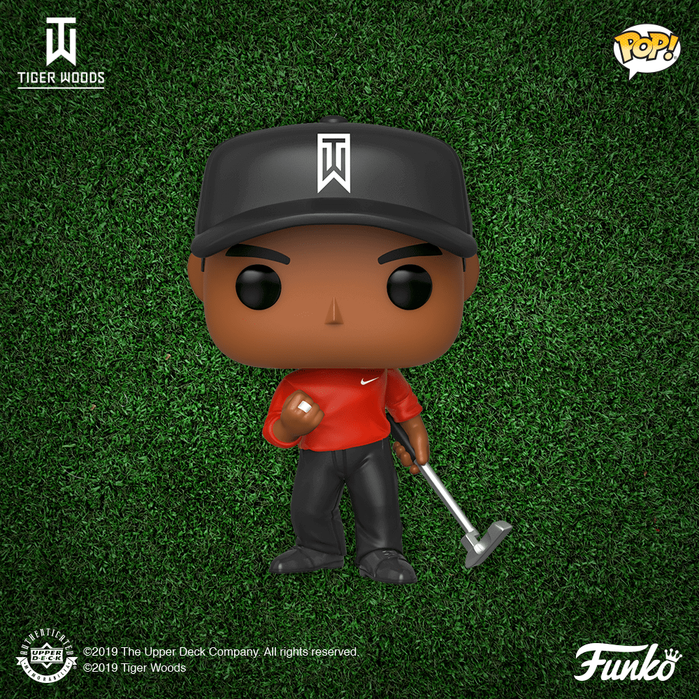 Figurine POP de Tiger Woods