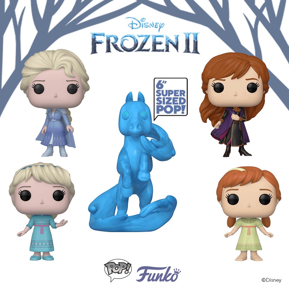 Figurines POP! de la Reine des Neiges 2
