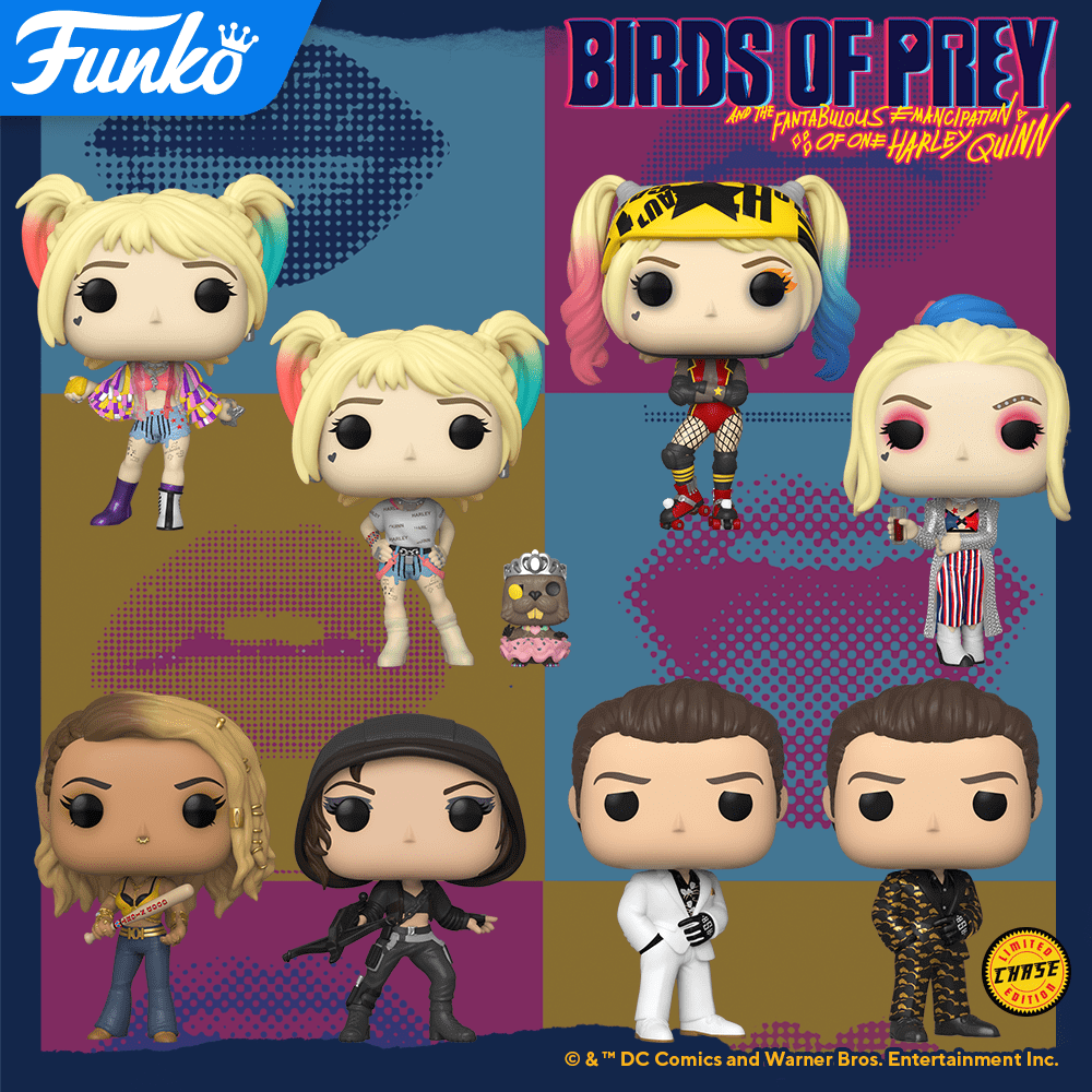 Figurines POP Birds of Prey (Harley Quinn)
