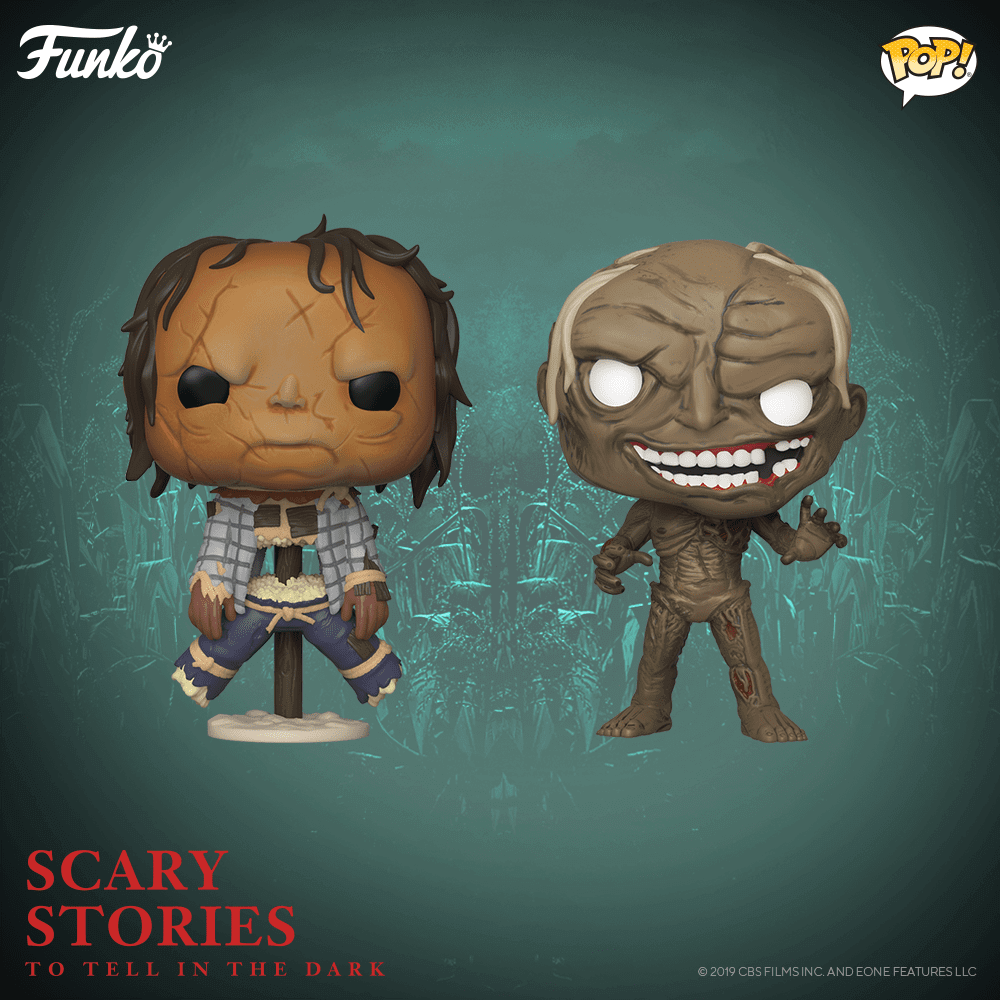 Nouvelles figurines Scary Stories