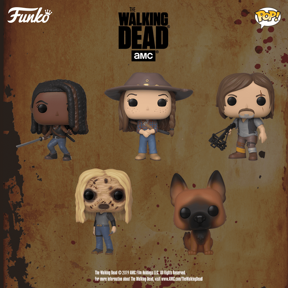 Nouvelles figurines The Walking Dead