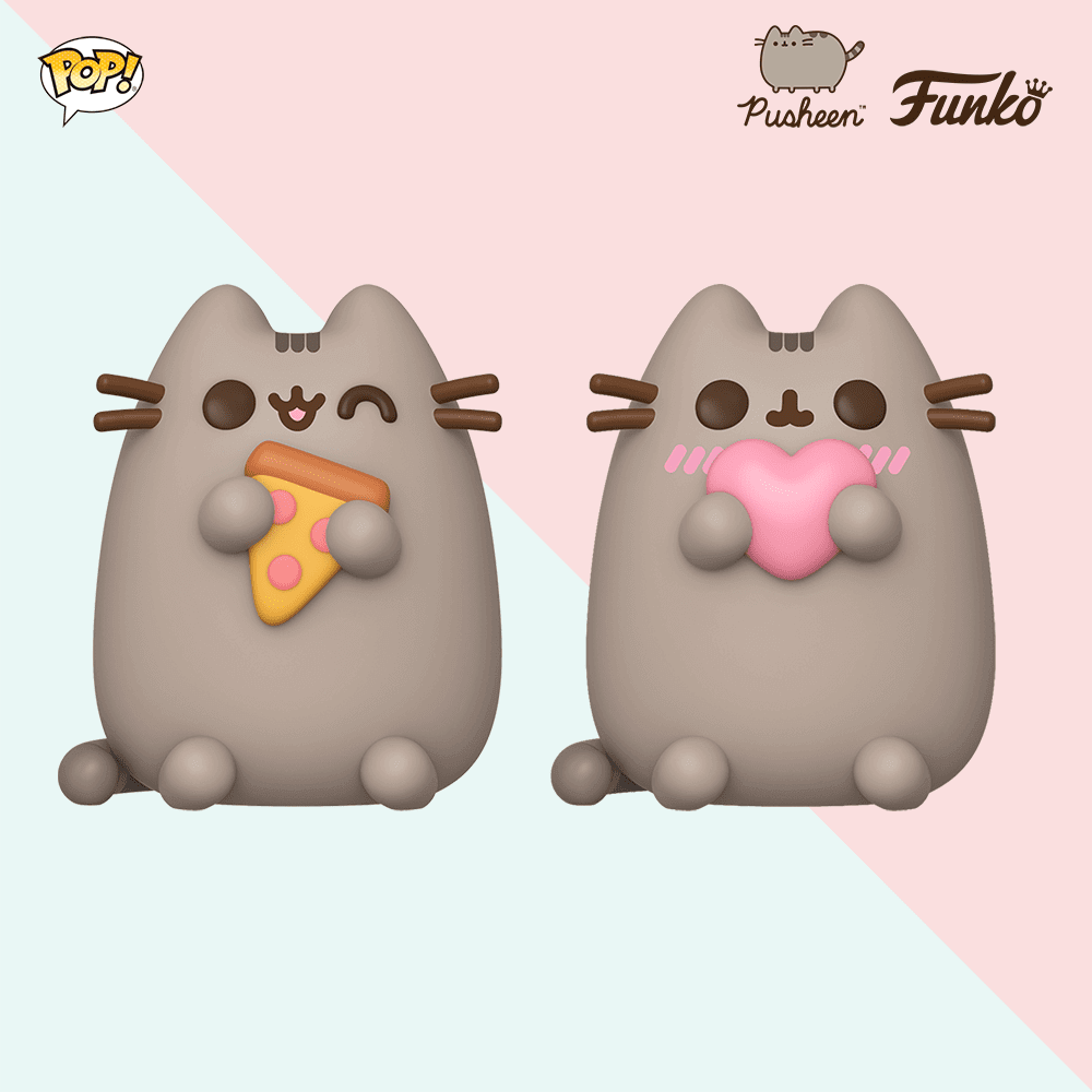 2 figurines POP Pusheen