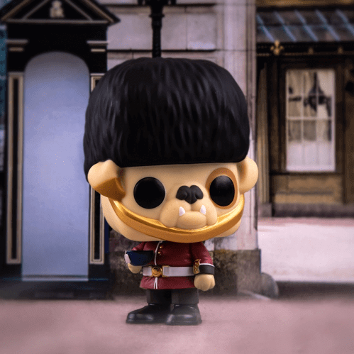 Figurine Funko POP! Around The World : Barkingham pour l'Angleterre