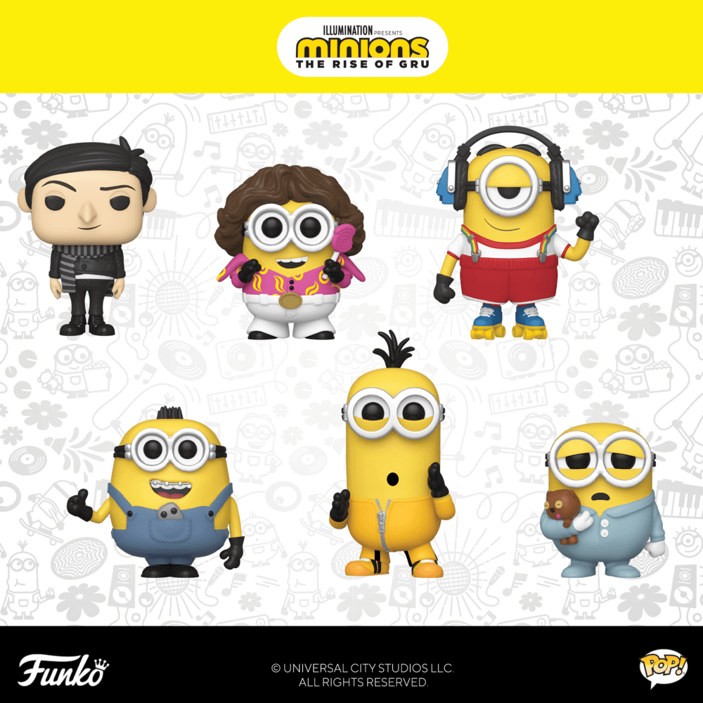 Figurines POP Moi, Moche et Méchant 2 (Minions 2)