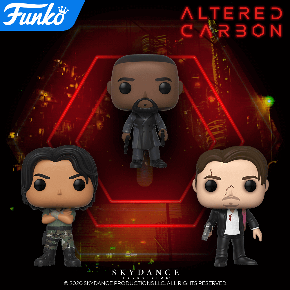 Figurines POP de la série Netflix Altered Carbon