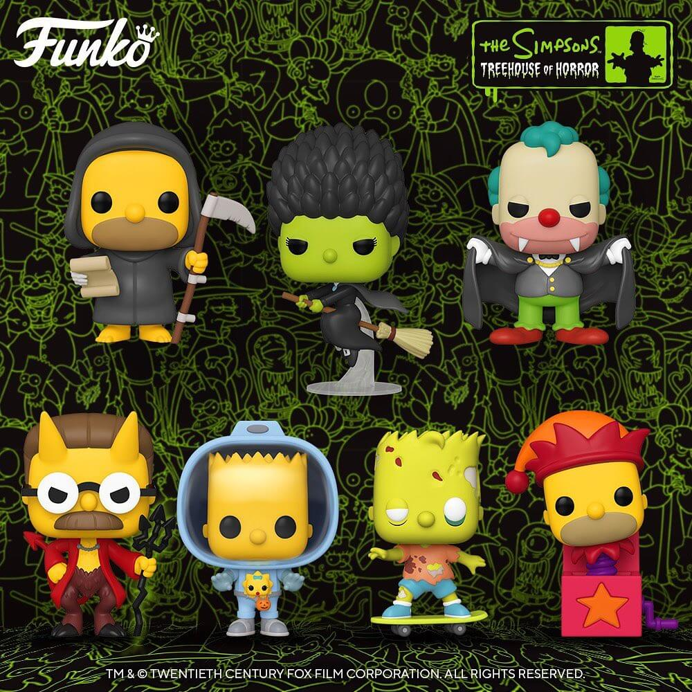 Nouvelles figurines POP des Simpsons Treehouse of Horror