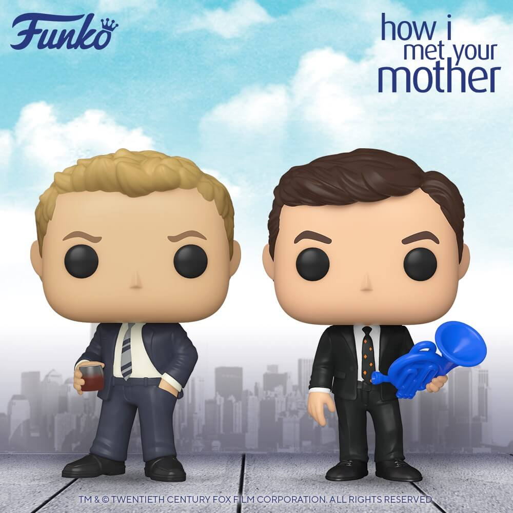 Premières figurines POP How I Met Your Mother